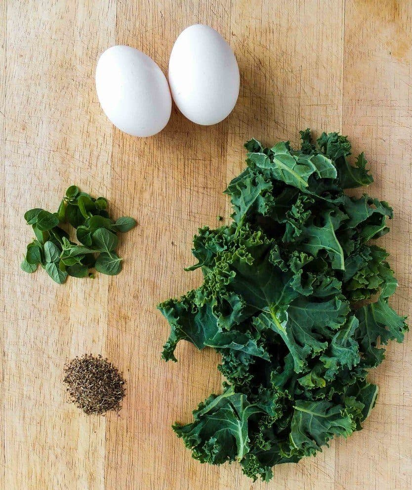 kale-and-egg-plate