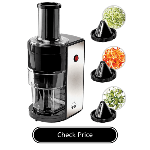 PII Electric Spiralizer with 3 Blades